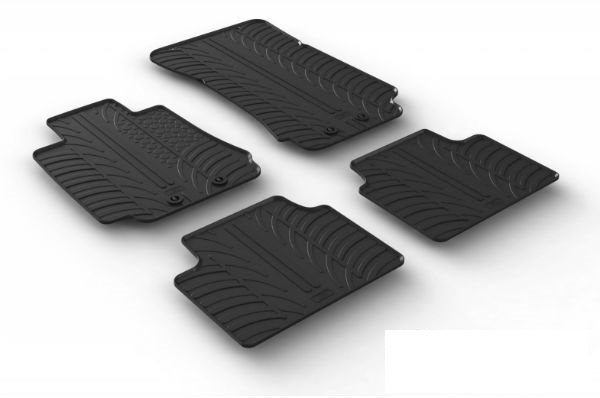 Car rubber floor mats are the best choice